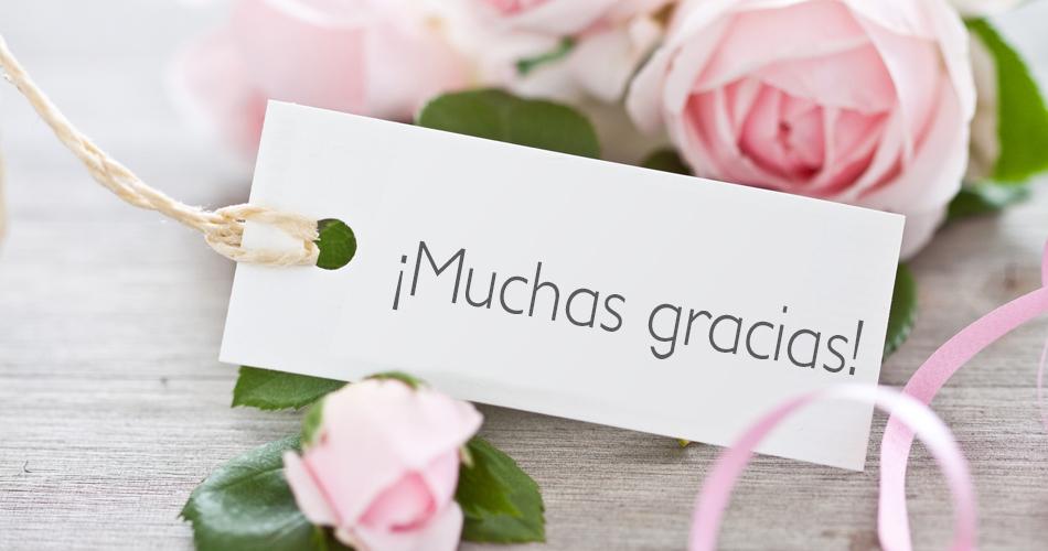 Cartas de agradecimiento