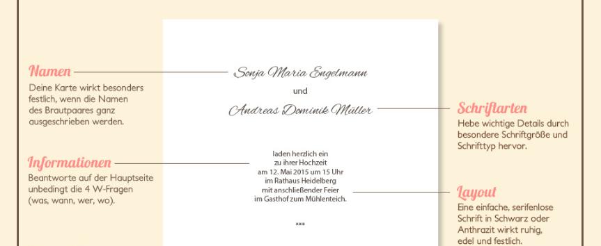 Passende Texte Zur Hochzeitseinladung Wunderkarten