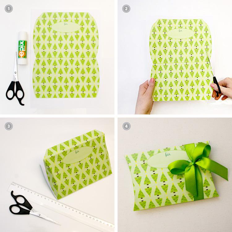 Weihnachten: originelle Geschenkbox für kostbare Kleinigkeiten