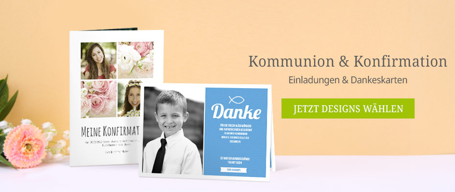 Kommunion Konfirmation