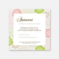 Antwortkarten Hochzeit