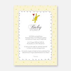 Einladungskarten Babyparty