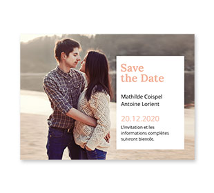 Cartes Save the Date