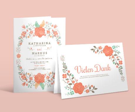 Hochzeitskarten - Hochzeitssets