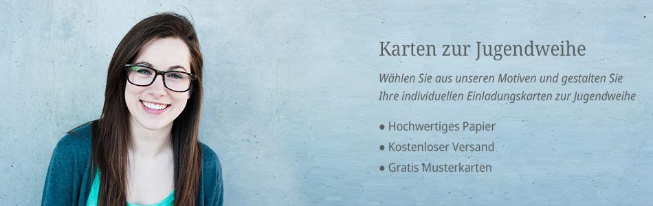 Jugendweihe Einladungskarten Vorlagen Design