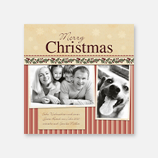Klassische Weihnachtskarten