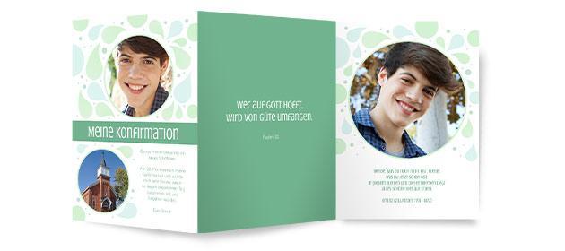 konfirmationskarten | kostenloser & schneller versand, Kreative einladungen