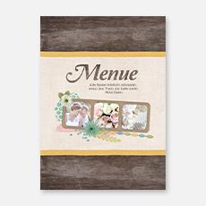 Menuekarten Hochzeit