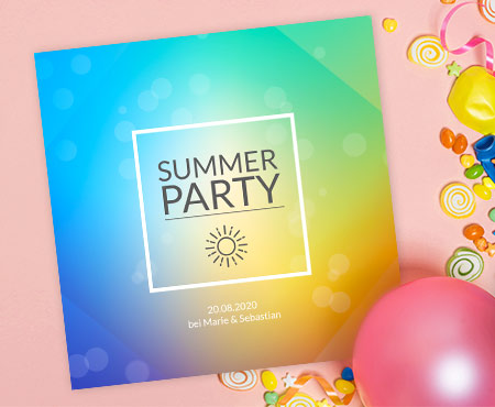 Partyeinladungen
