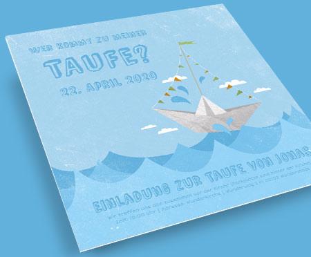 Taufkarten Versandfertig In 24 Stunden