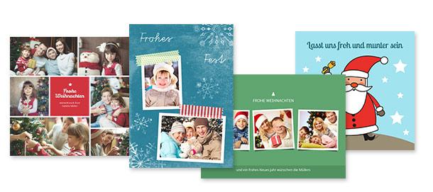 weihnachtskarten selbst gestalten kostenloser versand. Black Bedroom Furniture Sets. Home Design Ideas