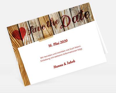 save the date auf deutsch